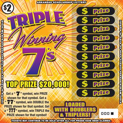 Triple Winning 7's