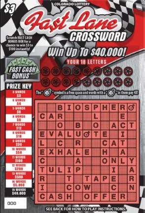 Fa$t Lane Crossword