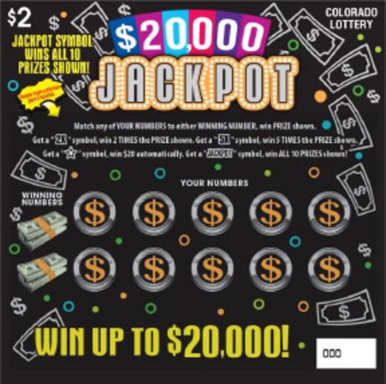 $20,000 Jackpot