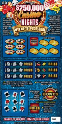 $250,000 Casino Nights