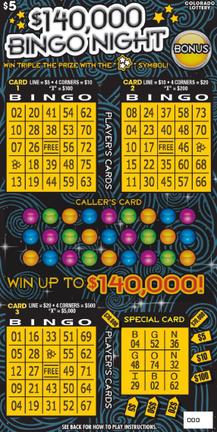 $140,000 Bingo Night