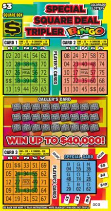 Special Square Deal Tripler Bingo