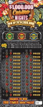 $1,000,000 Casino Nights
