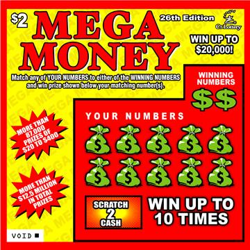 MEGA MONEY 26TH EDITION