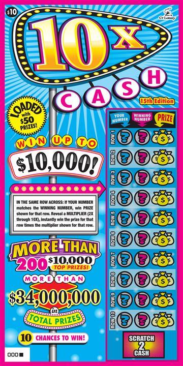10X Cash 15th Edition