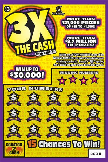 3X The Cash 10th Edition