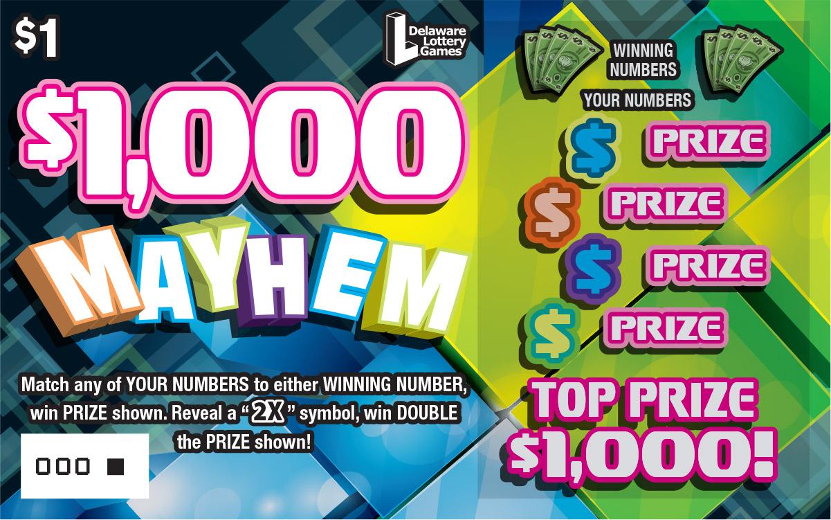 $1,000 MAYHEM
