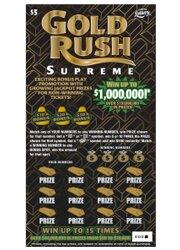 $5 GOLD RUSH SUPREME