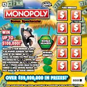 $2 MONOPOLY BONUS SPECTACULAR