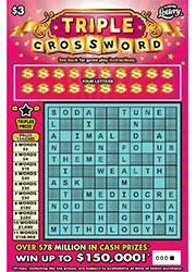 TRIPLE CROSSWORD