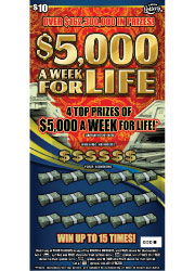 $5,000 A WK FOR LIFE