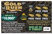 $1 GOLD RUSH SUPREME