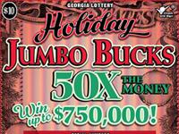 Holiday JUMBO BUCKS 50X THE M