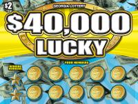 $40,000 LUCKY