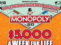MONOPOLY $5,000 A WEEK FOR LI