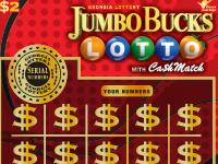 JUMBO BUCKS LOTTO WITH Ca$h M