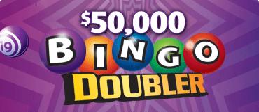 $50,000 BINGO DOUBLER