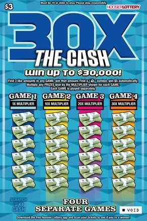 30X THE CASH