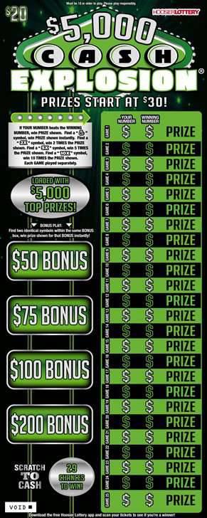 $5,000 CASH EXPLOSION®