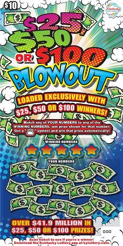 $25, $50, $100 Blowout