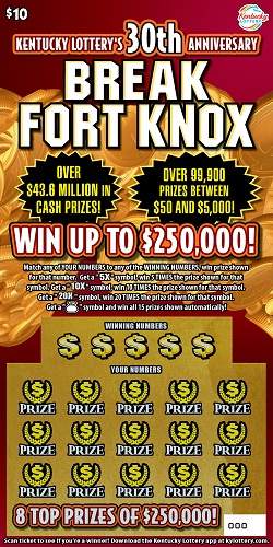 $10 Break Fort Knox