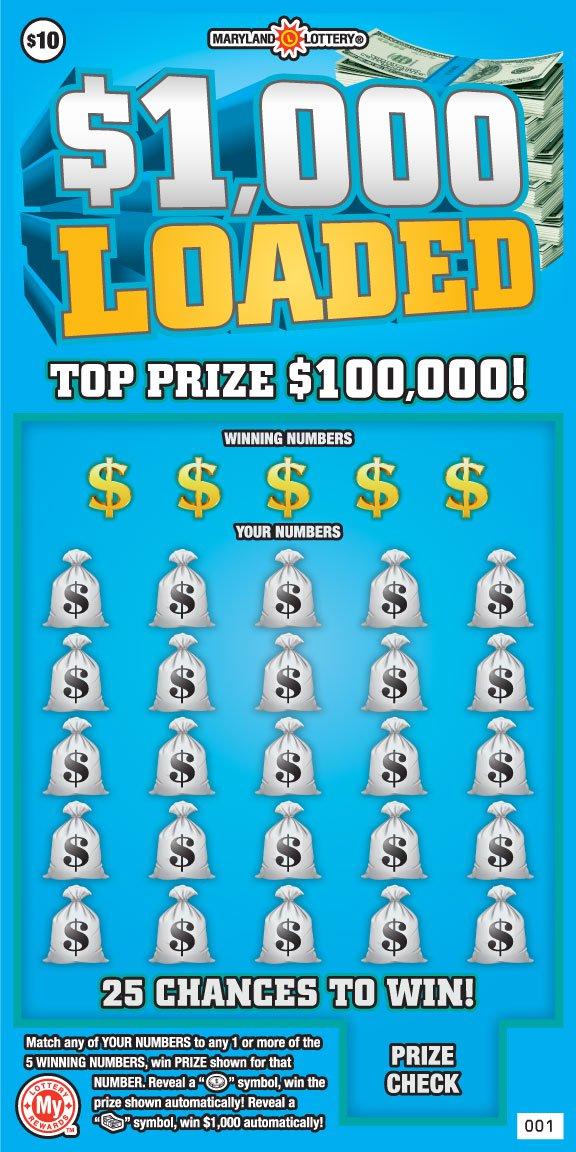 $1,000 Loaded