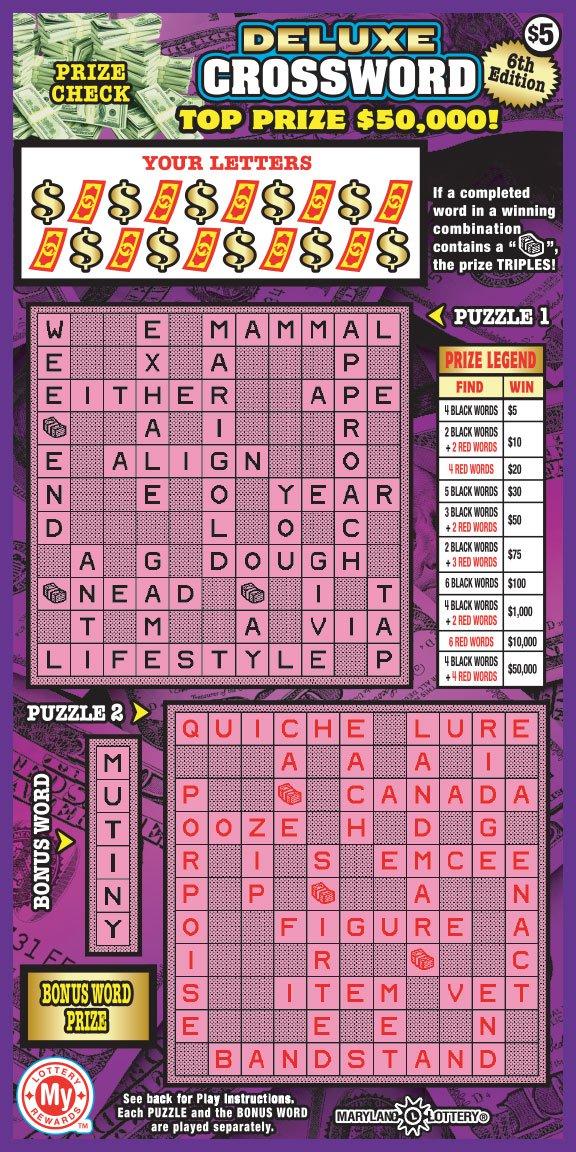 Deluxe Crossword