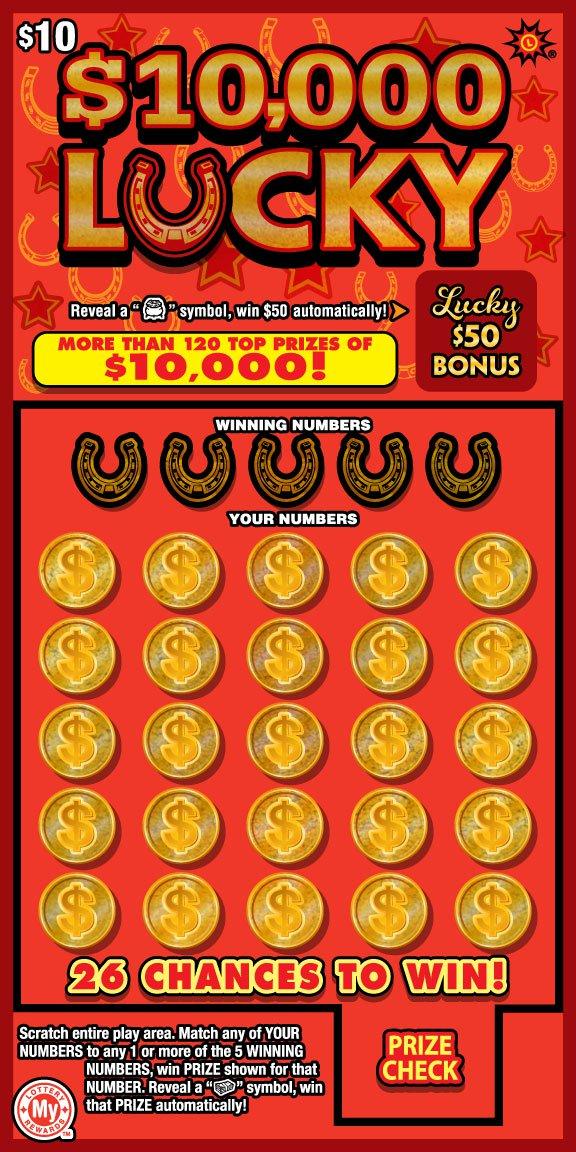 $10,000 Lucky