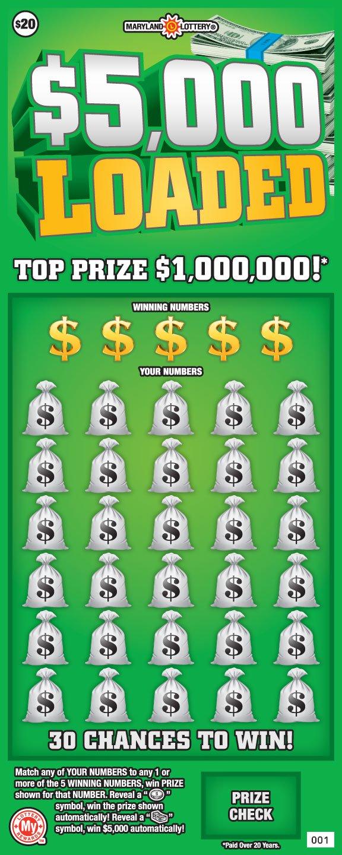 $5,000 Loaded