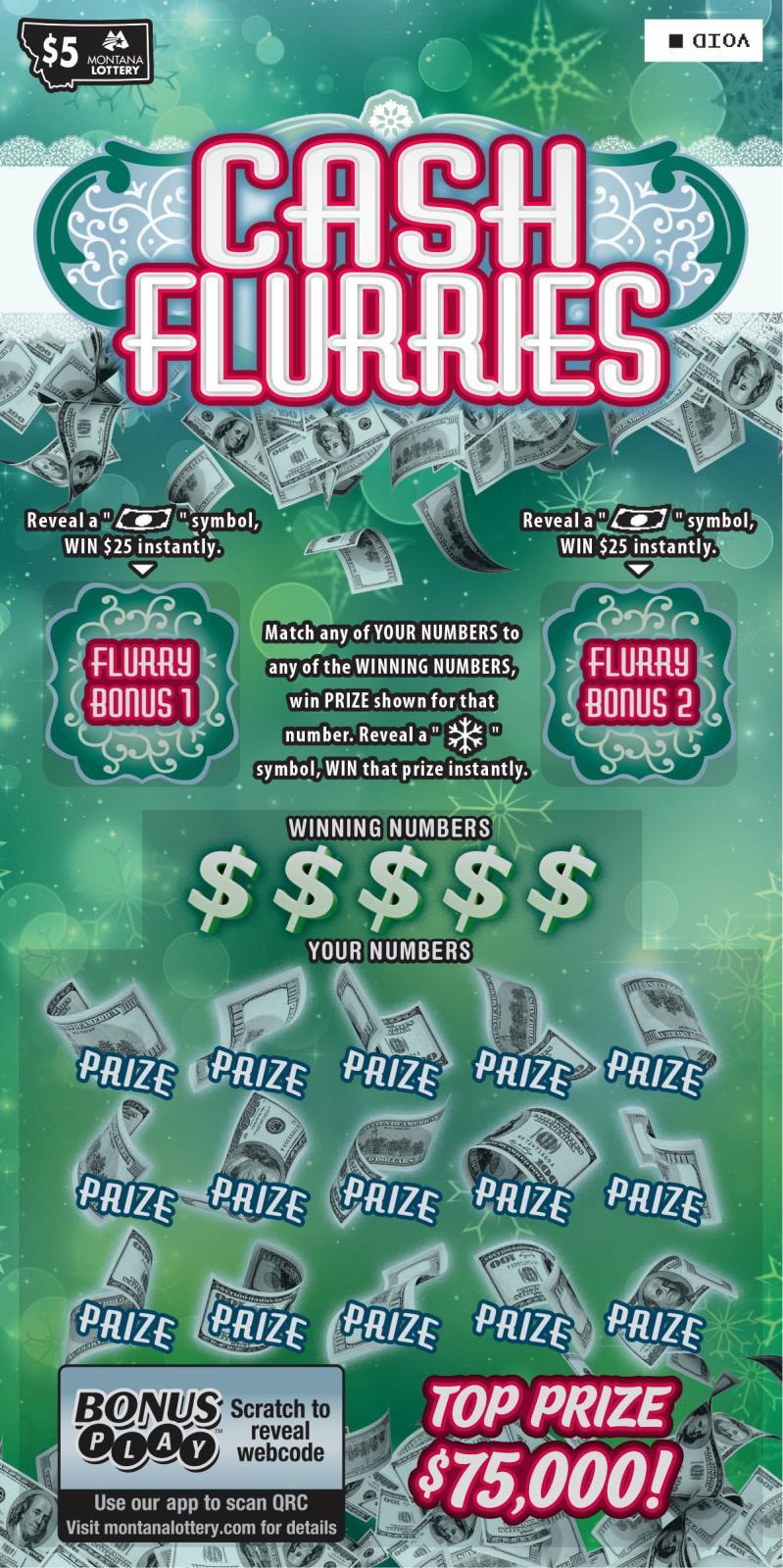Cash Flurries