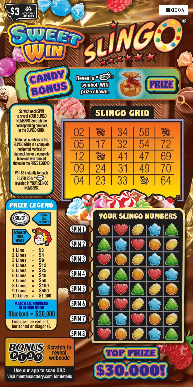 Sweet Win Slingo