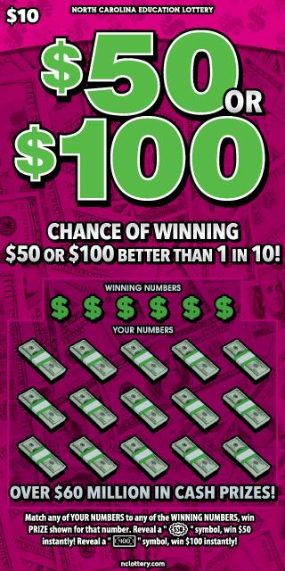$50 or $100
