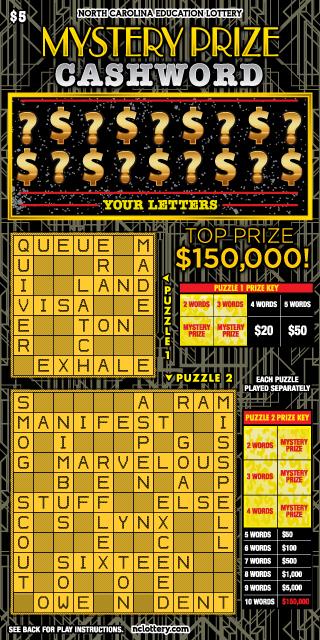 Mystery Prize Cashword