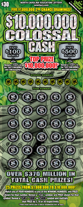 $10,000,000 Colossal Cash