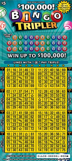 $100,000 Bingo Tripler
