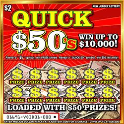 Quick $50's