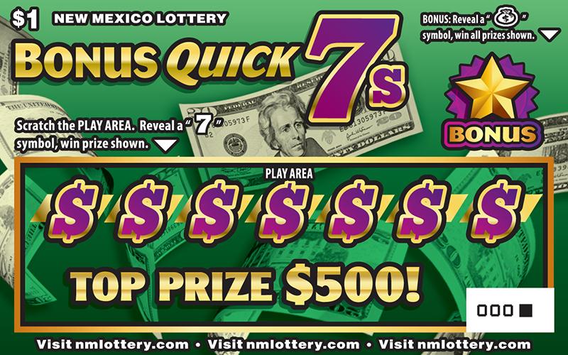 Bonus Quick 7s