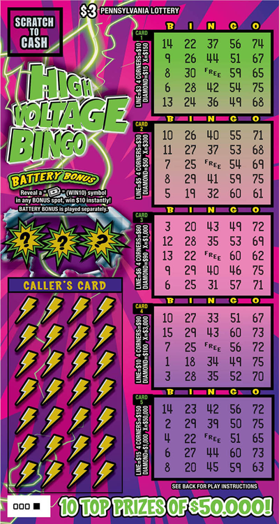 High Voltage Bingo