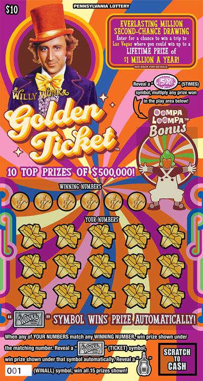 WILLY WONKA GOLDEN TICKET™