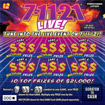 7-11-21® LIVE!