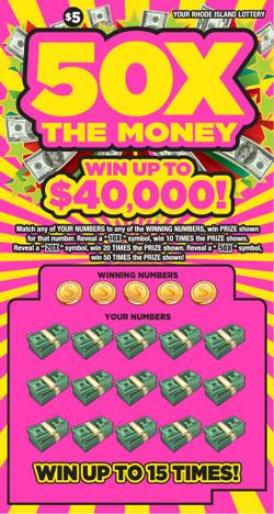 50X THE MONEY