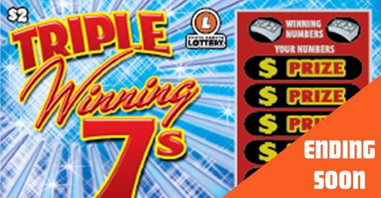 Triple Winning 7s - 1044