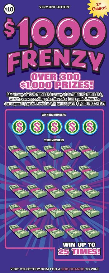 $1,000 Frenzy