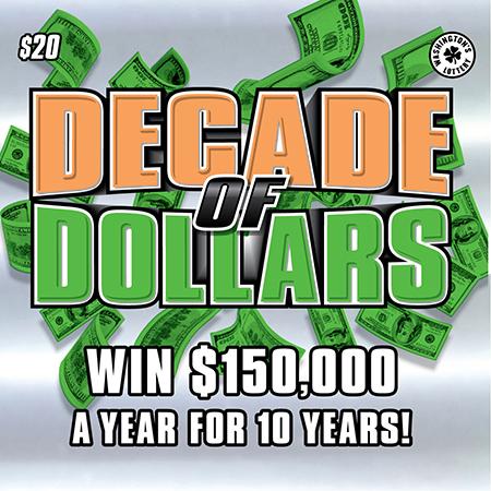 DECADE OF DOLLARS
