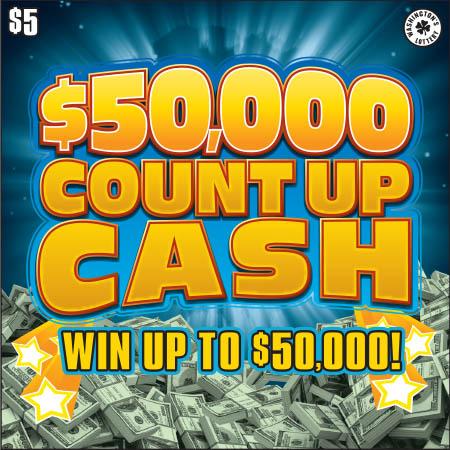 $50,000 COUNT UP CASH