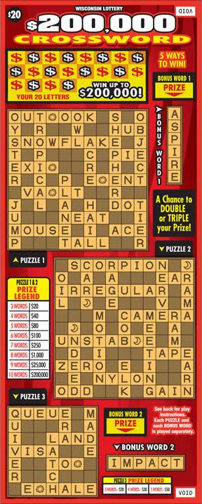 $200,000 Crossword