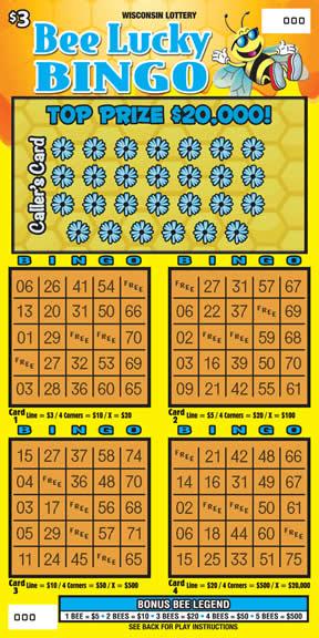 Bee Lucky Bingo