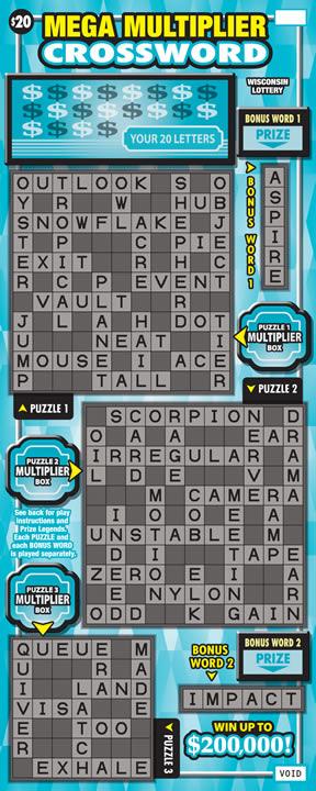 Mega Multiplier Crossword