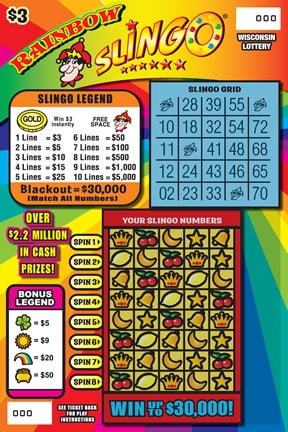 Rainbow Slingo