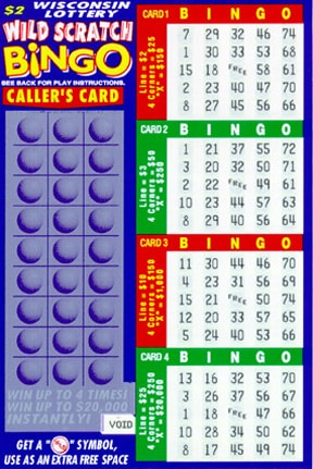 Wild Scratch Bingo